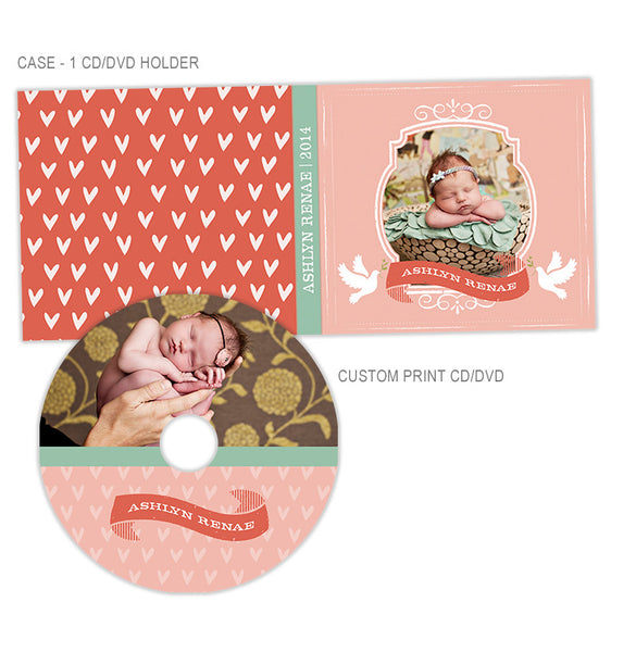 Personalized CD + CD Case | Lovey Dovey