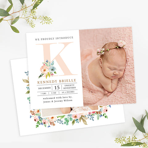 Birth Announcement | Laurel