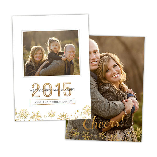 Christmas Photo Card | Clean Merry Christmas