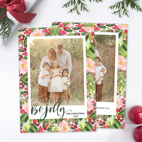 Christmas Card | Be Jolly