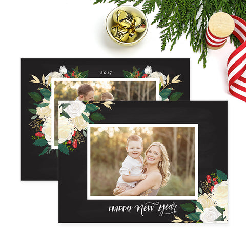 Christmas Card | Winter Floral