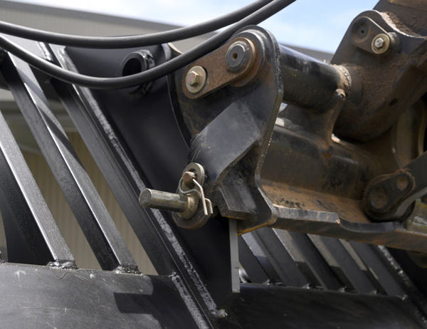 Available in a wide range of Telehandler hitch options