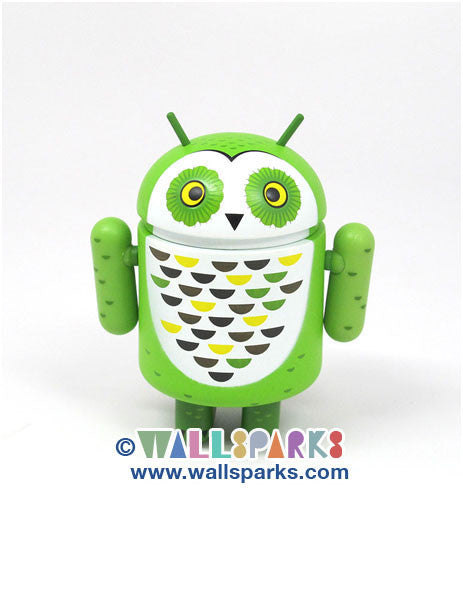 Google Android Series 3 Whoogle the Owl Gary Ham Mini Vinyl Figure