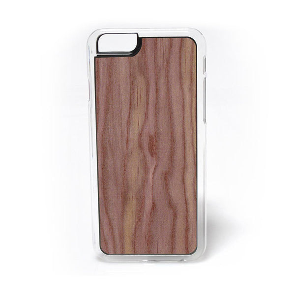 Eastern Red Cedar Wood iPhone Case Carved Engraved design on Real Natural Wood - For iPhone X/XS, 7/8, 6/6s, 6/6s Plus, SE, 5/5s, 5C, 4/4s