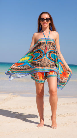 Tanzania Shorts and Scarf Top Collection - SALE
