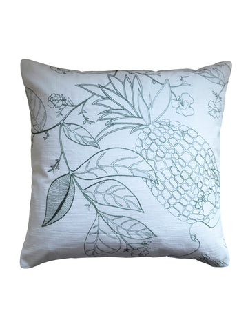 Pineapple Embroidered Cushion
