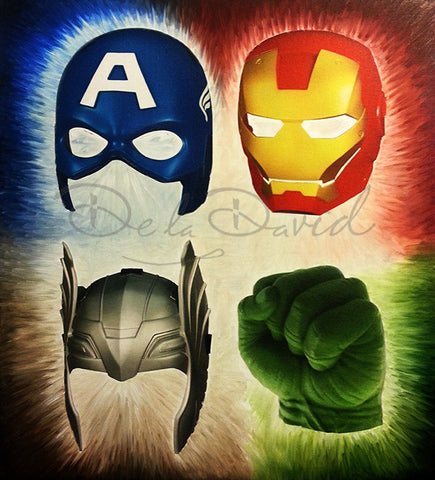 Heroes Of The Avenged Print