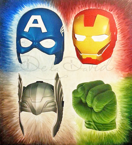 Heroes Of The Avenged Painting