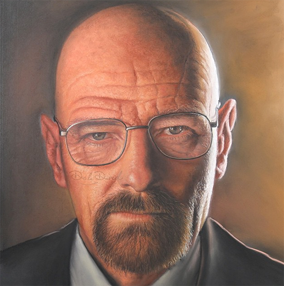 Heisenberg, The Cold Command Painting