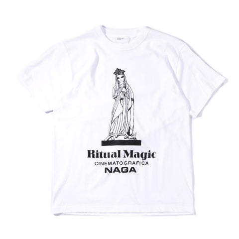 A.FOUR RITUAL MAGIC T-SHIRT WHITE