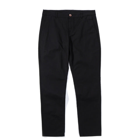 A KIND OF GUISE PERMANENTS TROUSERS WASHED BLACK