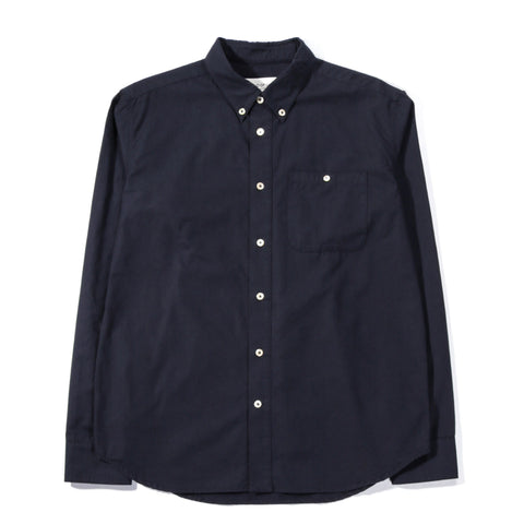A KIND OF GUISE PERMANENTS BUTTON DOWN WASHED NAVY