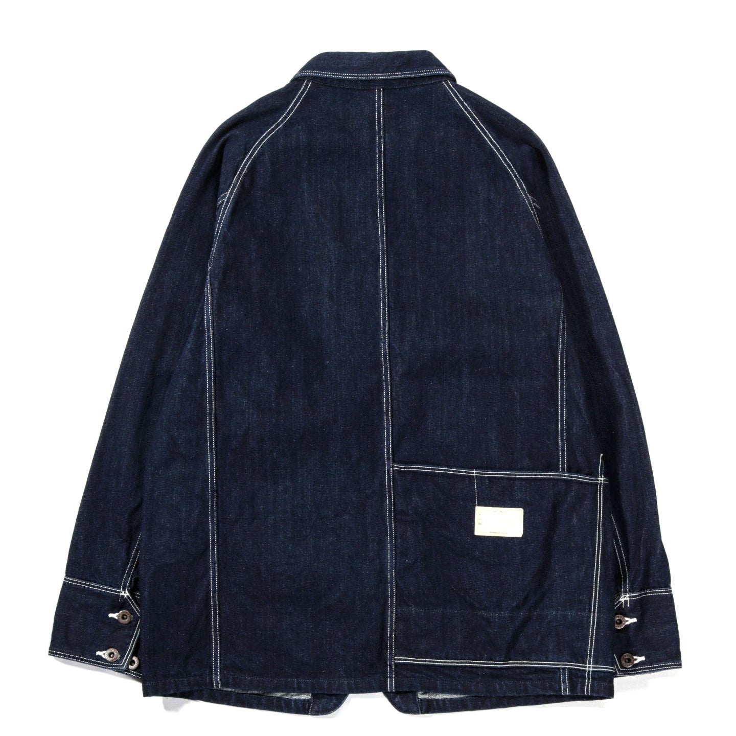 KAPITAL 12OZ DENIM CACTUS COVERALL INDIGO