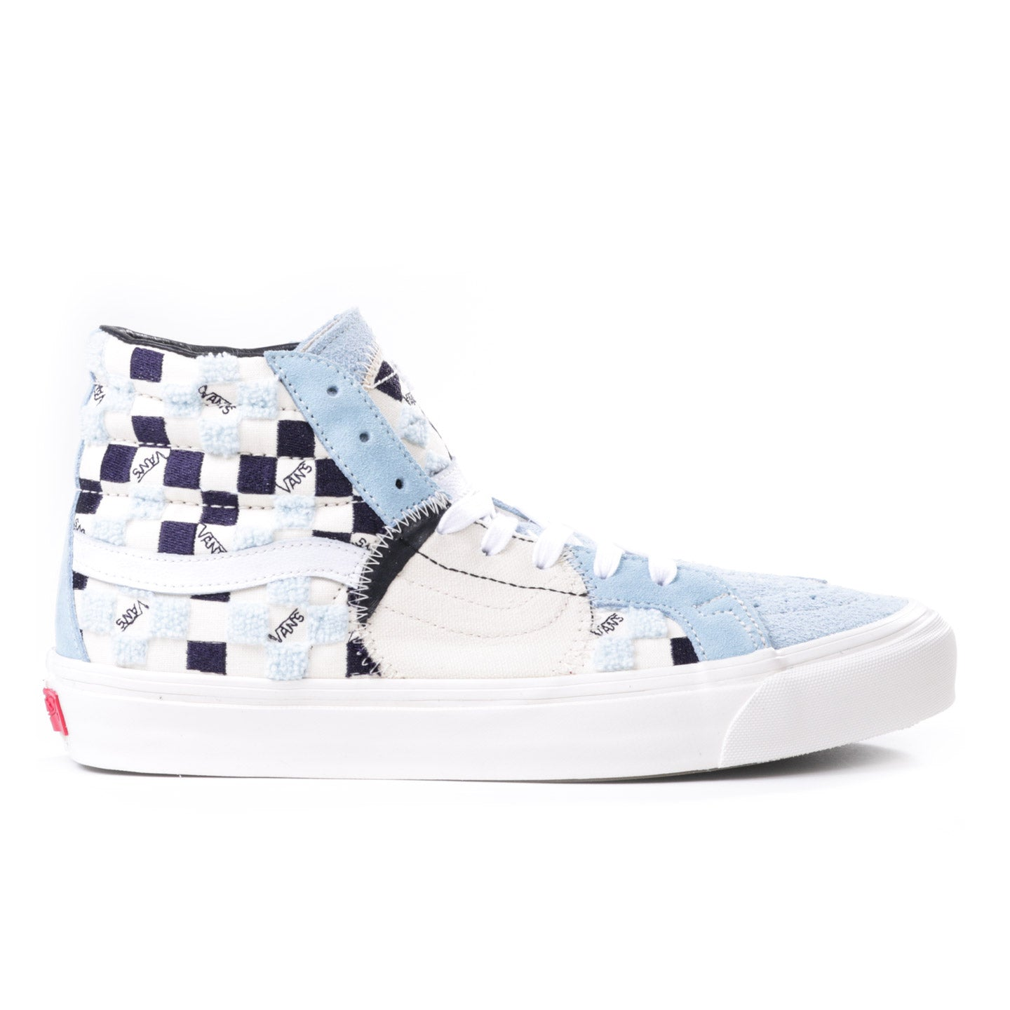 VAULT BY VANS SK8-HI BRICOLAGE LX CLASSIC WHITE / COOL BLUE