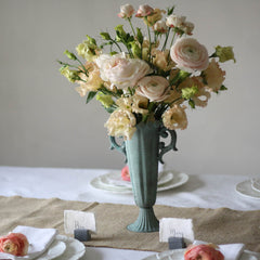 Tall Fluted Goblet Wedding Centrepiece  available from @theweddingomd