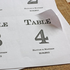 Wine bottle table numbers free download from @theweddingomd