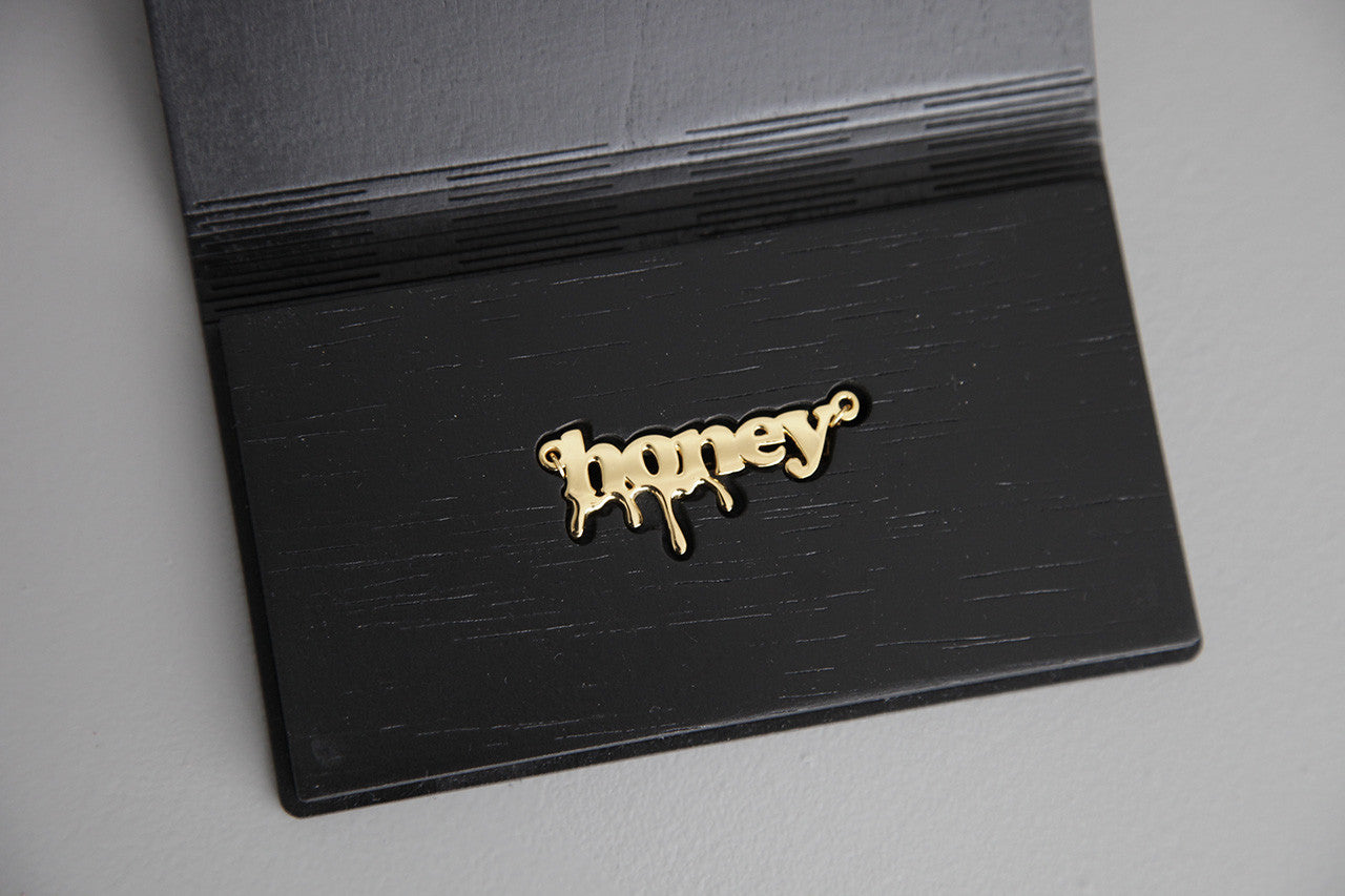 lasercut and handmade plywood case with BLACK finish, designed by wndbr