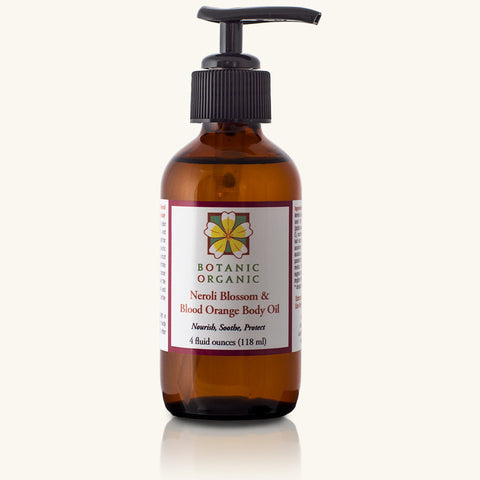 Neroli Blossom & Blood Orange Body Oil
