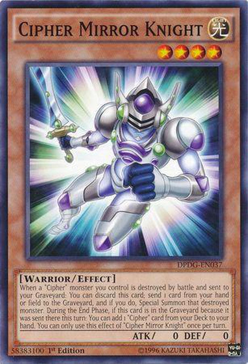 Cipher Mirror Knight - DPDG-EN037 - Common 1st Edition-Cherry Collectables