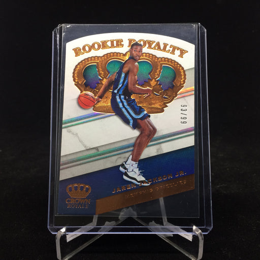 18-19 Crown Royale JAREN JACKSON JR. RC Rookie Royalty /49-Cherry Collectables