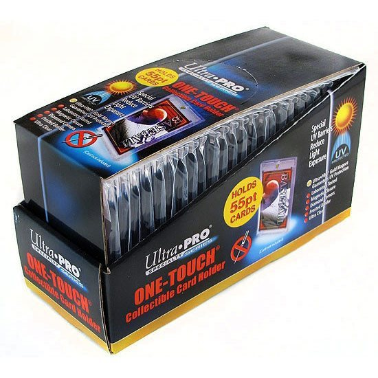 Ultra Pro 55pt. Magnetic One Touch Card Holder Box - 25 Units-Cherry Collectables