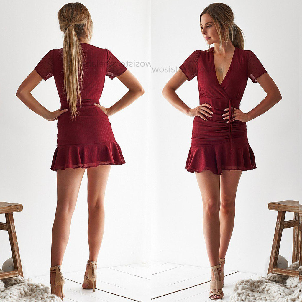Marina Dress - Red