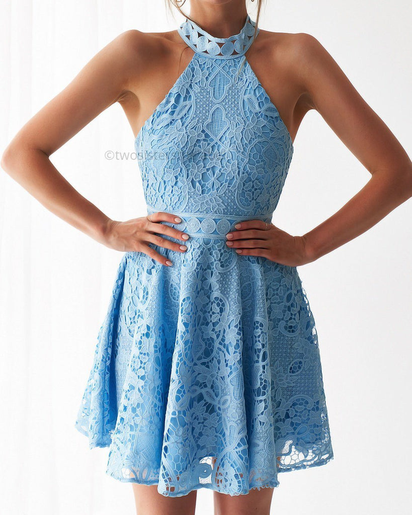 Spence Dress - Baby Blue