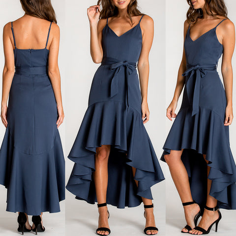 Emma Dress - Navy