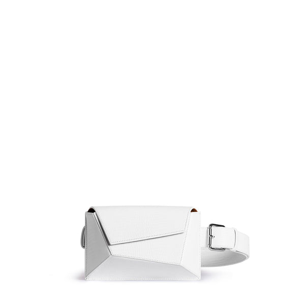 Naomi Belt Bag - White