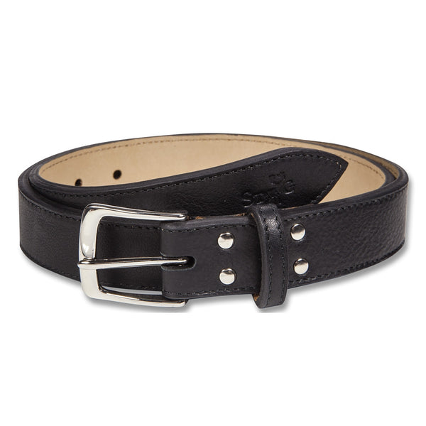 Cockburn black leather belt - Leather belt - StaaG®