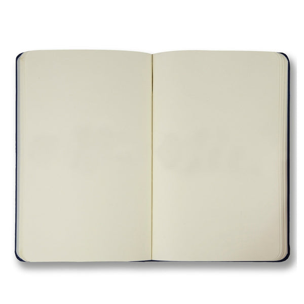 Navy soft touch plain notebook - Notebook - StaaG® - 2