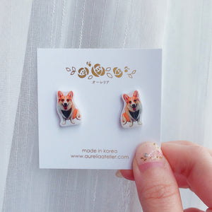 My Dog Earrings