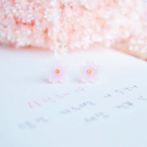Yamazakura Earrings ヤマザクラ