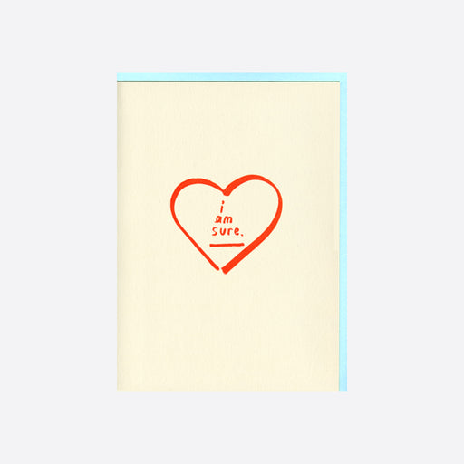 People I've Loved I Am Sure Card