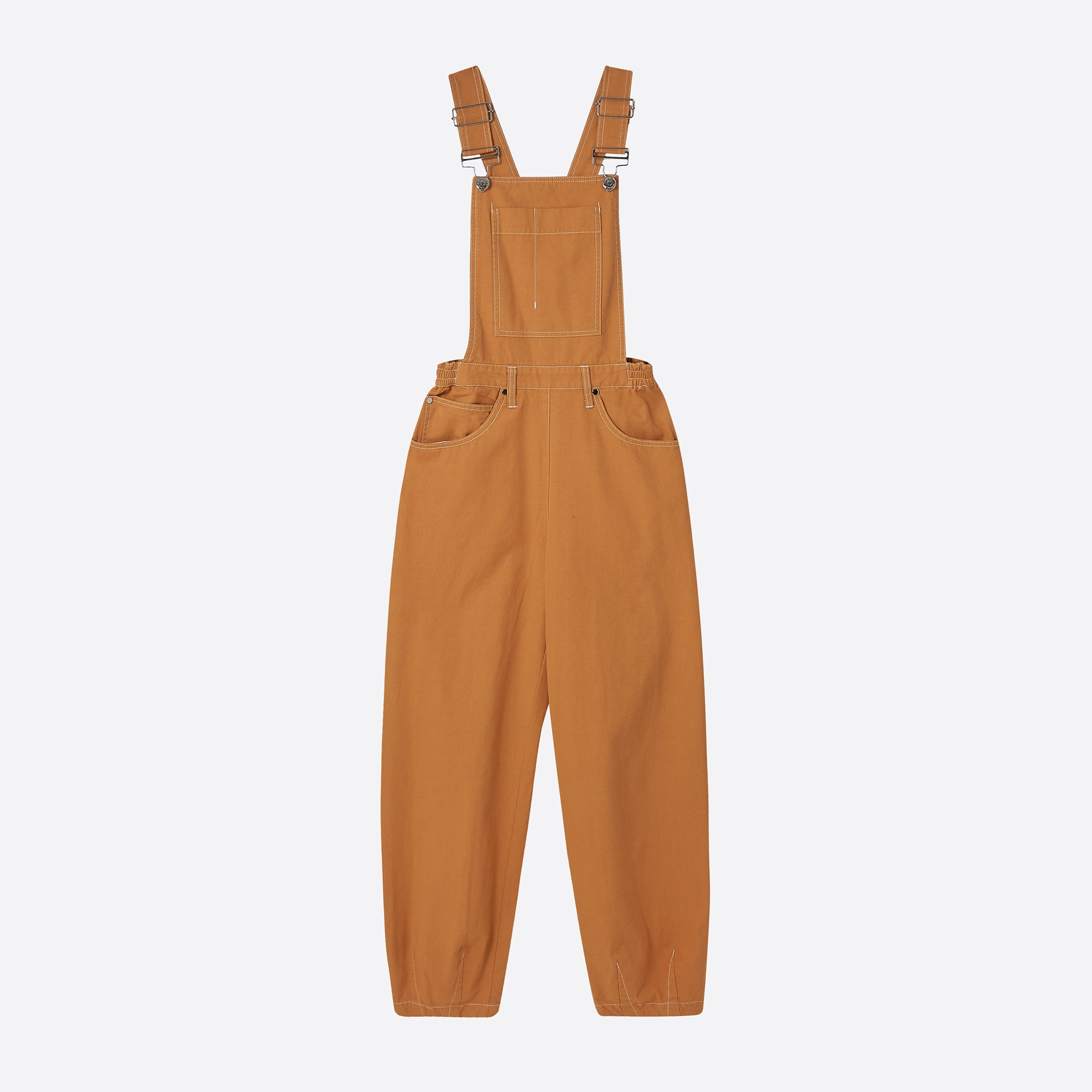 LF Markey Fat Boys Dungarees in Camel