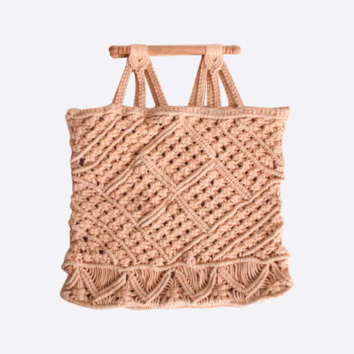 LF Markey Macrame Bag in Natural