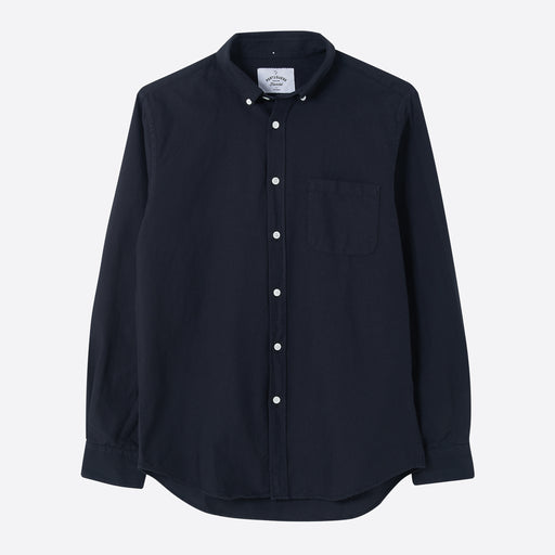Portuguese Flannel Belavista Shirt in Black