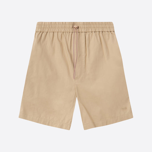 Wood Wood Baltazar Shorts in Light Khaki