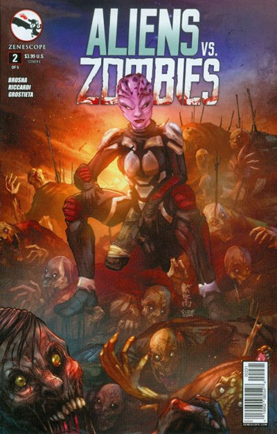 ALIENS VS. ZOMBIES #2 VARIANT