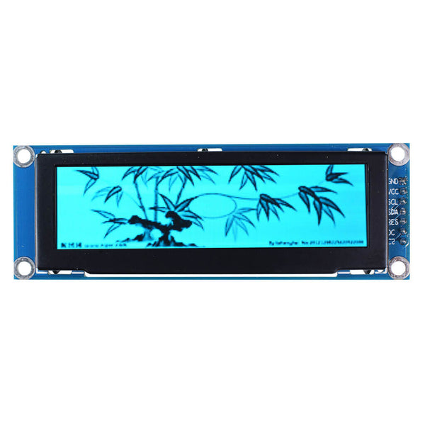 "3.12"" 256x64 Monochrome Graphic OLED Display Module - SPI"