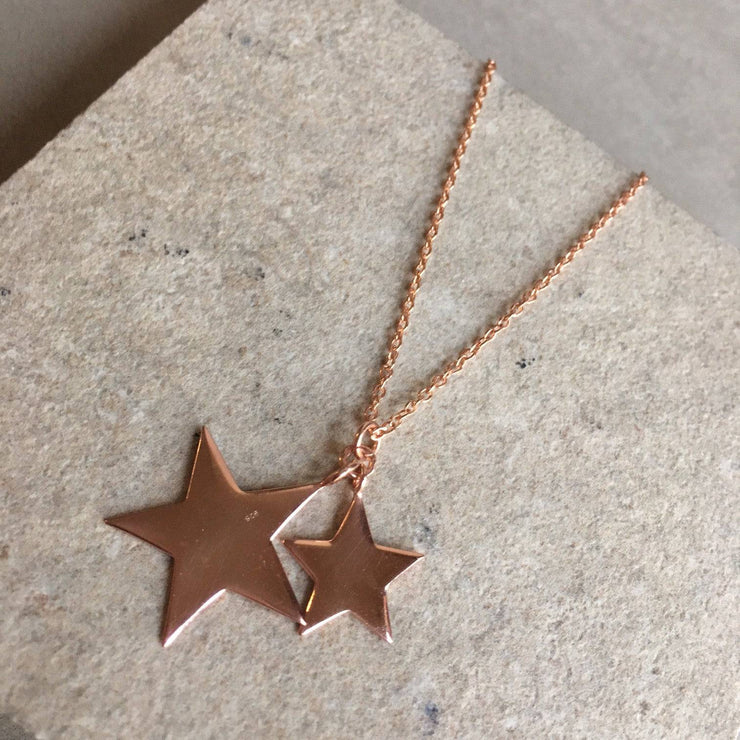 Double Star Necklace - LÁTELITA - 5