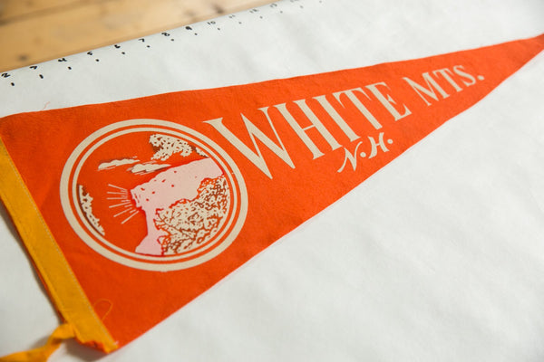 White Mts. N.H. Felt Flag