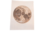 "UNFRAMED Katelyn Morse Original Painting ""Rest"" Dark Grey Moon // ONH Item 7102"