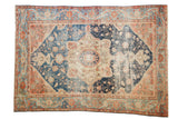 Antique Farahan Sarouk Carpet / ONH item 7453