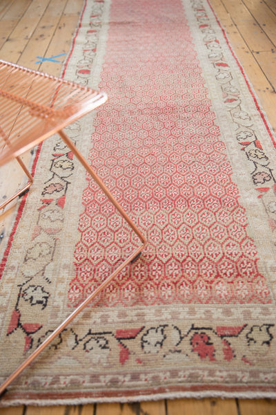 Vintage Distressed Oushak Rug Runner / Item ee003037 image 6