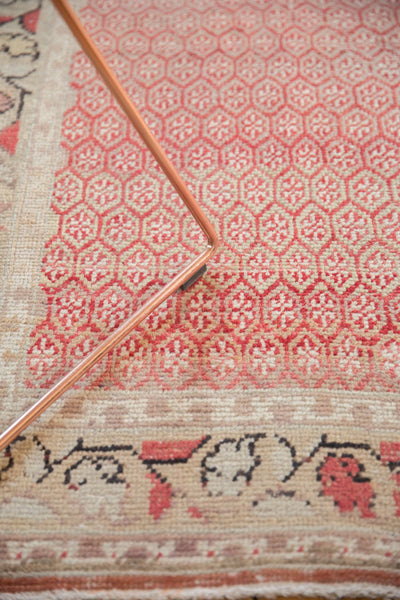 Vintage Distressed Oushak Rug Runner / Item ee003037 image 7