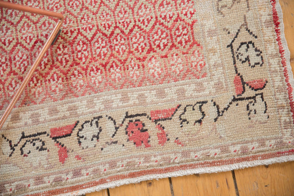 Vintage Distressed Oushak Rug Runner / Item ee003037 image 8