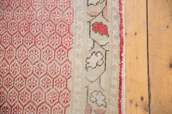 Vintage Distressed Oushak Rug Runner / Item ee003037 image 9
