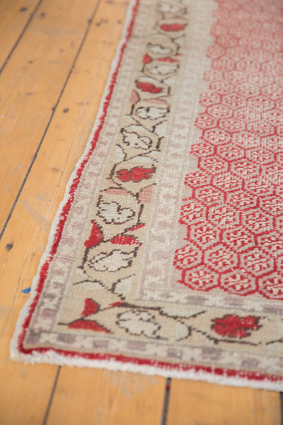 Vintage Distressed Oushak Rug Runner / Item ee003037 image 11