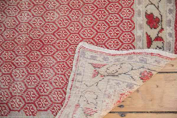 Vintage Distressed Oushak Rug Runner / Item ee003037 image 12